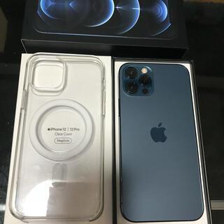 Apple - 【SIMフリー】iPhone 12 Pro 256GB ブルー 中古美品 新品