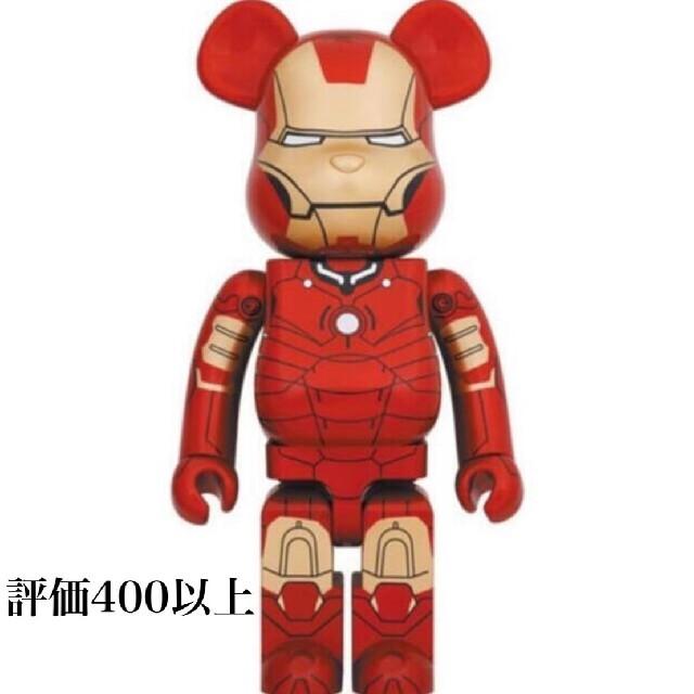 MEDICOM TOY(メディコムトイ)のBE@RBRICK IRON MAN MARK III 1000% エンタメ/ホビーのフィギュア(その他)の商品写真