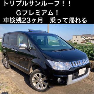 【美車!ワンオーナー】H22 デリカD:5 Gプレミアム 4WD  サンルーフ