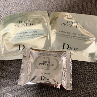 ディオール(Dior)のdior プレステージ  ル サヴォン、ラ ムース サンプル(洗顔料)