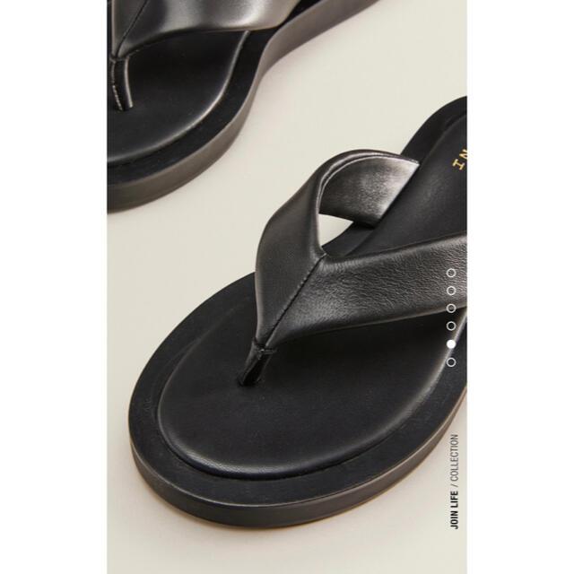 ZARA(ザラ)のZARA レザーサンダル レディースの靴/シューズ(サンダル)の商品写真