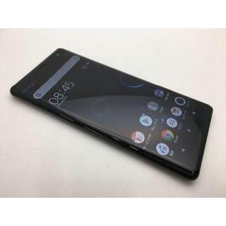ソニー(SONY)の515 SIMフリー美品au Xperia XZ3 SOV39 ブラック(スマートフォン本体)