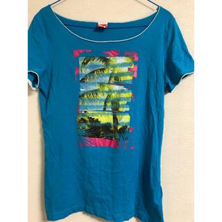 プーマ(PUMA)のユーズド プーマ レディースTシャツ Lサイズ  (Tシャツ(半袖/袖なし))