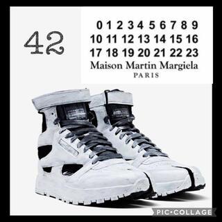 Maison Martin Margiela - 【新品】メゾンマルジェラ リーボック tabi ハイカットスニーカー