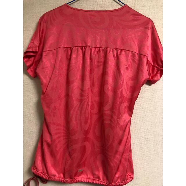 Reebok(リーボック)のユーズド リーボック レディースTシャツ Mサイズ レディースのトップス(Tシャツ(半袖/袖なし))の商品写真