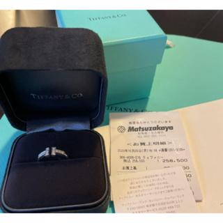 Tiffany & Co. - ティファニーT ダイヤモンドワイヤーリング 10号