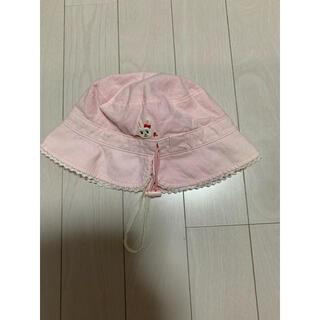 ミキハウス(mikihouse)のミキハウス ベビー帽子 うさこ ピンク(帽子)