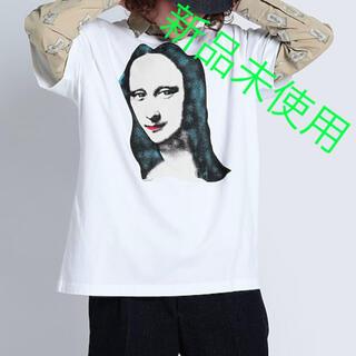 オフホワイト(OFF-WHITE)の新品未使用 OFF-WHITE モナリザ Tシャツ XXS オフホワイト (Tシャツ/カットソー(半袖/袖なし))