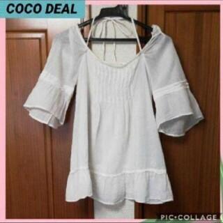 ココディール(COCO DEAL)のココディール 半袖ブラウス(シャツ/ブラウス(半袖/袖なし))