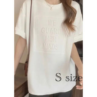 ロゴTシャツ 立体ロゴBIGTシャツ 韓国