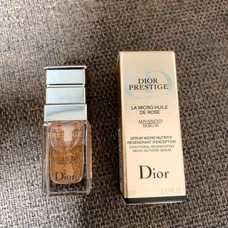 ディオール(Dior)のdior プレステージ マイクロユイルドローズセラム(美容液)