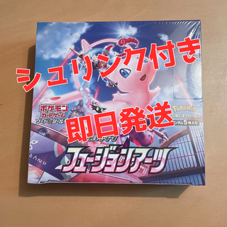 ポケモン - 【シュリンク付き】ポケモンカード フュージョンアーツ 1BOX 新品未開封