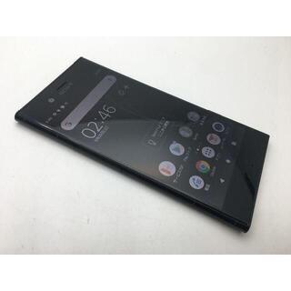 ソニー(SONY)の575 SIMフリー au XPERIA XZ1 SOV36 ブラック◆美品◆(スマートフォン本体)