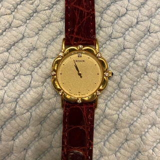 SEIKO - クレドール k18ケース ダイヤ9P 腕時計