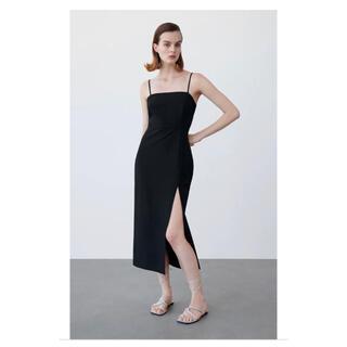 ZARA - チューブドレス