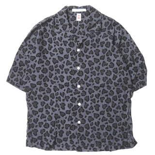 CHAHCHAH x RF 21SS ハートレオパードオープンカラーシャツ(シャツ)