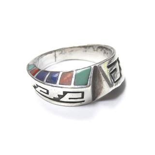 Lonn Parker ツイストインレイリング 18号 指輪 メンズ(リング(指輪))