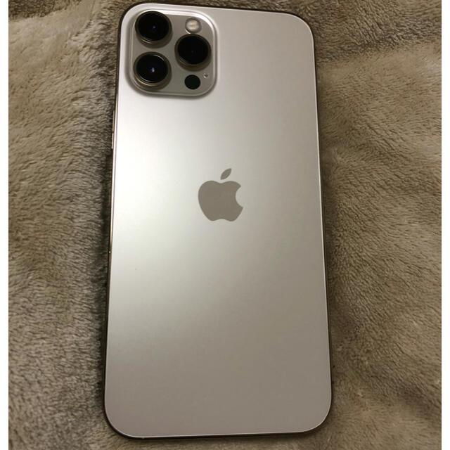 iPhone(アイフォーン)の未使用 アップルケア加入済 iPhone 12Pro Max 512GBゴールド スマホ/家電/カメラのスマートフォン/携帯電話(スマートフォン本体)の商品写真