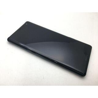 ソニー(SONY)の560 SIMフリー上美品au Xperia XZ3 SOV39 グリーン(スマートフォン本体)