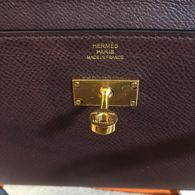 Hermes(エルメス)のHERMES ケリーロングトゥーゴー ルージュセリエ レディースのバッグ(ショルダーバッグ)の商品写真