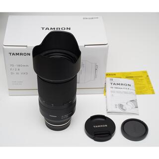 TAMRON - Tamron 70-180mm F/2.8 SONY E レンズ