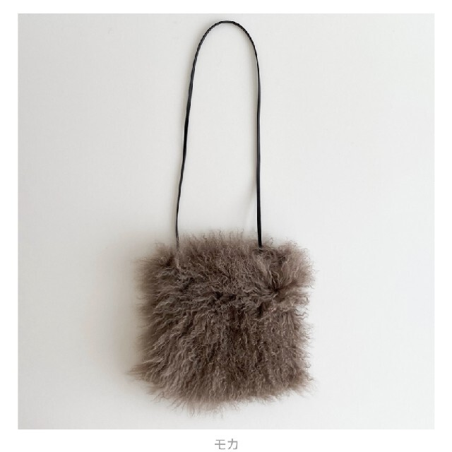 SeaRoomlynn(シールームリン)のシールームリン LAMB FUR SHOULDER BAG レディースのバッグ(ショルダーバッグ)の商品写真