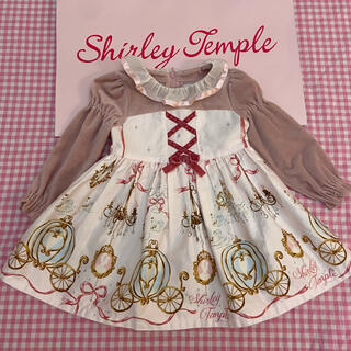 Shirley Temple - シャーリーテンプル シンデレラ ワンピース 80