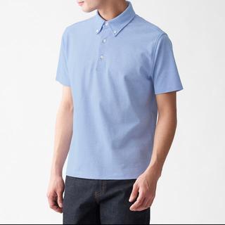 ムジルシリョウヒン(MUJI (無印良品))の涼感 鹿の子編みボタンダウンポロシャツ(ポロシャツ)