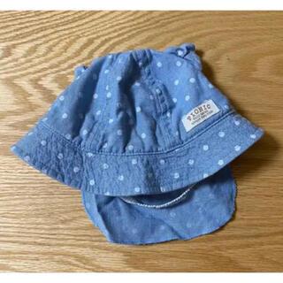 ミキハウス(mikihouse)のベビー帽子 ミキハウス 44cm(帽子)