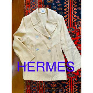 エルメス(Hermes)のHERMES エルメス ジャケット リネン テーラード ゴルチエ期 レア(テーラードジャケット)