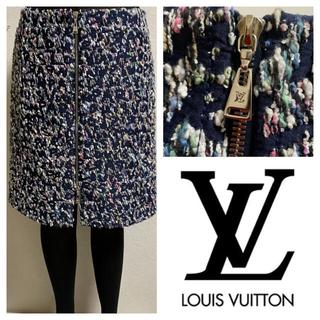 ルイヴィトン(LOUIS VUITTON)のルイヴィトン☆ グラフィティ総柄☆スカート38(ひざ丈スカート)