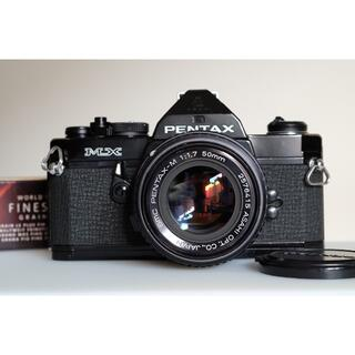 ペンタックス(PENTAX)のPENTAX MX(黒)+ smc PENTAX-M 1.7/50 美品・試写済(フィルムカメラ)