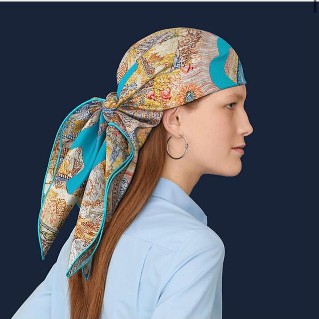 Hermes(エルメス)のHermes エルメス カレ 90 《  ELEFTHERIA  》箱なし 新品 レディースのファッション小物(バンダナ/スカーフ)の商品写真