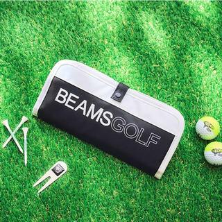 BEAMS - BEAMS GOLF ゴルフグローブケース