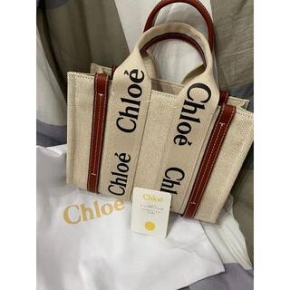 Chloe - Chloe クロエ woody トートバッグ