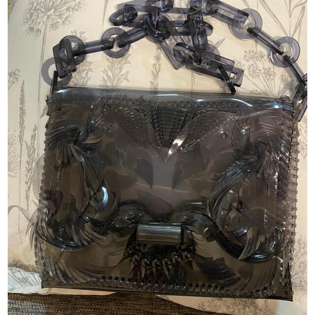 mame(マメ)のmame kurogouchi 廃盤 新品PVC チェーンバッグ レディースのバッグ(ショルダーバッグ)の商品写真