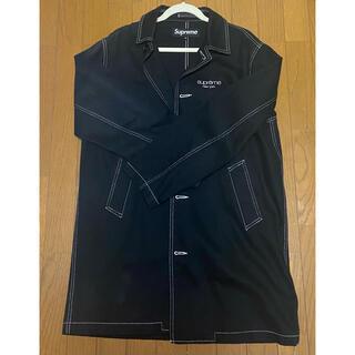 シュプリーム(Supreme)のsupreme 18s/s washed work trench coat M(トレンチコート)