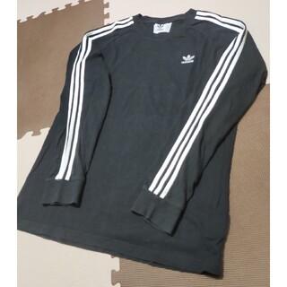 adidas - ☆ATS-830 アディダス 長袖Tシャツ 黒 サイズ 2XO