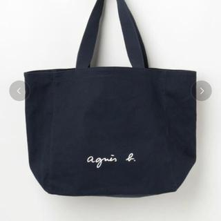 agnes b. - アニエスベー トートバッグ 黒