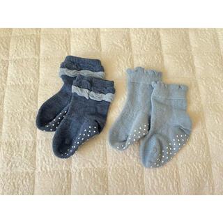 ユニクロ(UNIQLO)のUNIQLO baby 靴下2足セット(靴下/タイツ)