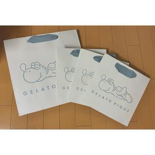 gelato pique - 【新品】ジェラートピケ マリオ ヨッシー 限定 ショップ 袋 ショッパー 紙袋