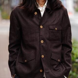 ポールハーデン(Paul Harnden)の【週末値下げ】Araki yuu railman jacket(テーラードジャケット)