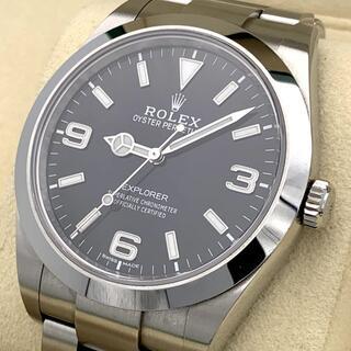 i - エクスプローラー F番 黒文字盤 214270 メンズ 自動巻き  腕時計