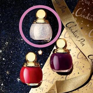 クリスチャンディオール(Christian Dior)の⭐️Dior限定品 グリッタートップコート 001 ゴールデンスノー ⭐️(マニキュア)