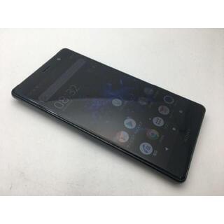 ソニー(SONY)の568 SIMフリー au Xperia SOV38 ブラック◆上美品◆(スマートフォン本体)