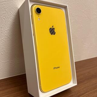 Apple - iPhone XR 64GB イエロー