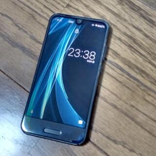 アクオス(AQUOS)のAQUOS Phone shv41 ブラック au(スマートフォン本体)
