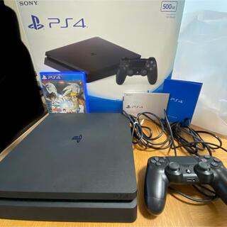 PlayStation4 - SONY PS4 本体 ジェットブラック CUH-2000A B01 500GB