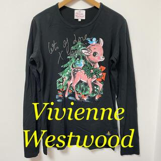 Vivienne Westwood - Vivienne Westwood☆限定 バンビ 黒 長袖Tシャツ ヴィヴィアン
