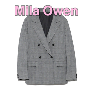 Mila Owen 4つ釦ダブルジャケット 0